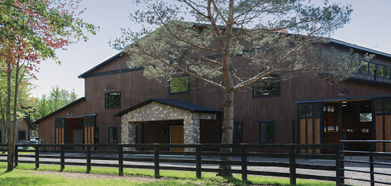 Country Living Horse Sanctuary Barn
