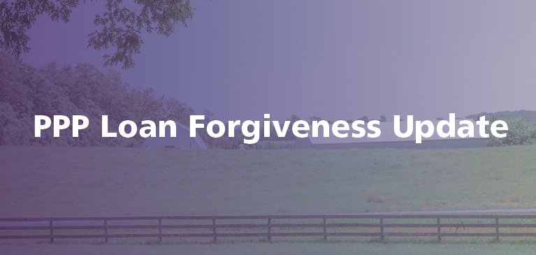 PPP Loan Forgiveness Pasture
