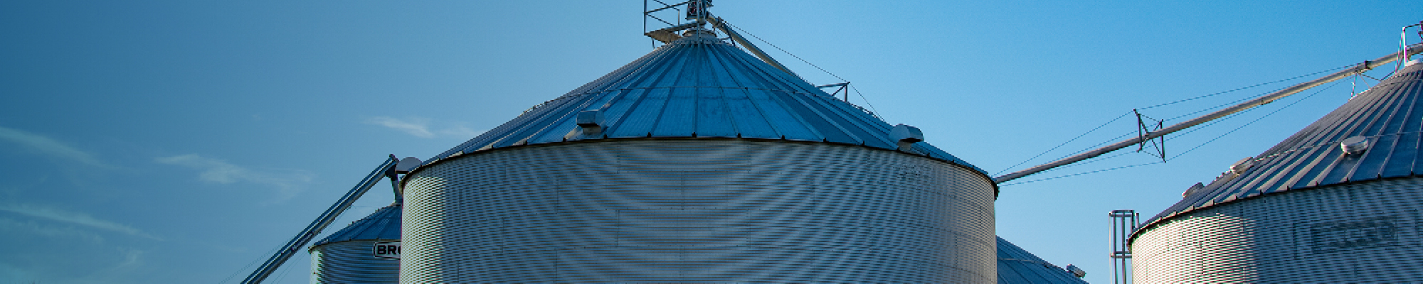 Customer farm with blue sky